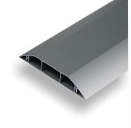 Canaux de sol alu gaines plinthes dielec for Protege cable sol