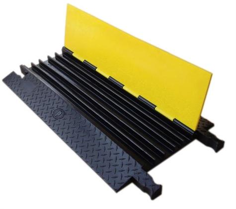 Prot ge c bles en polyurethane 5 compartiments for Protege cable sol